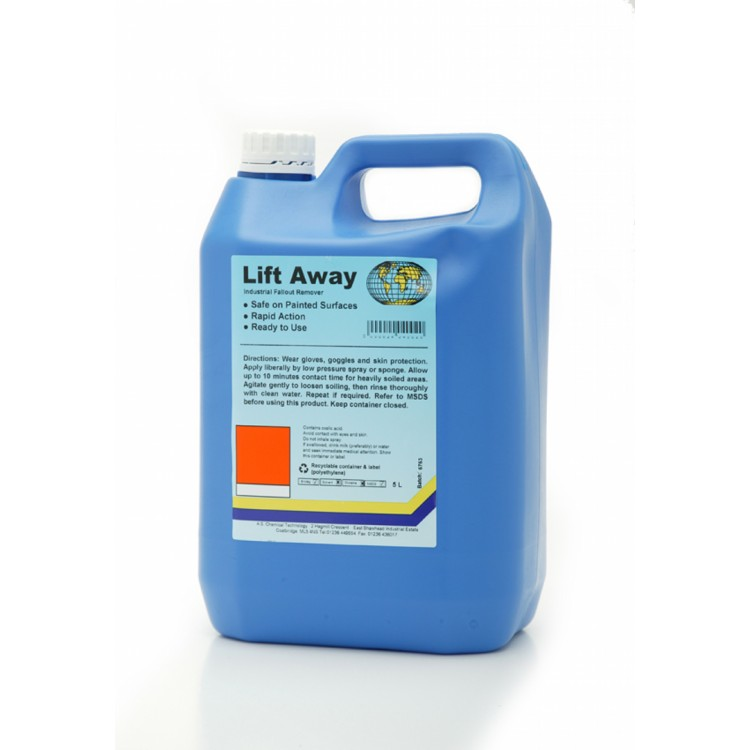Lift Away Industrial Fallout Remover 3 x 5Ltr