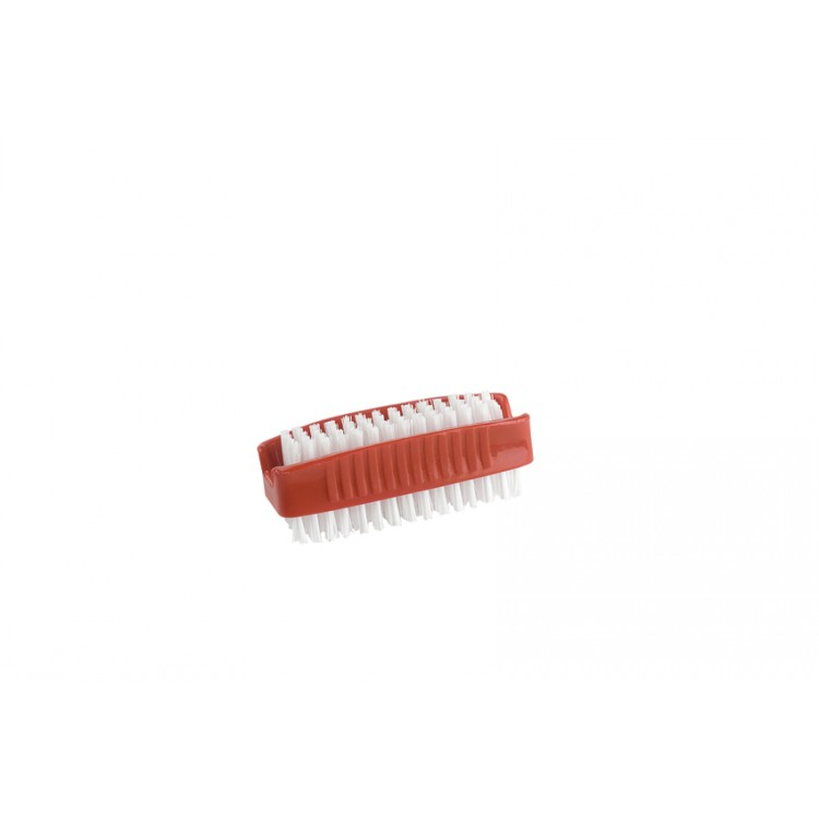 Plastic Nail Brush Pk 12