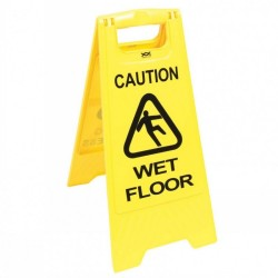 Cleaning Wet Floor Sign