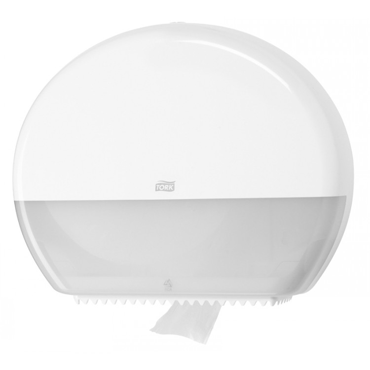 Tork Jumbo Toilet Roll Dispenser (White)