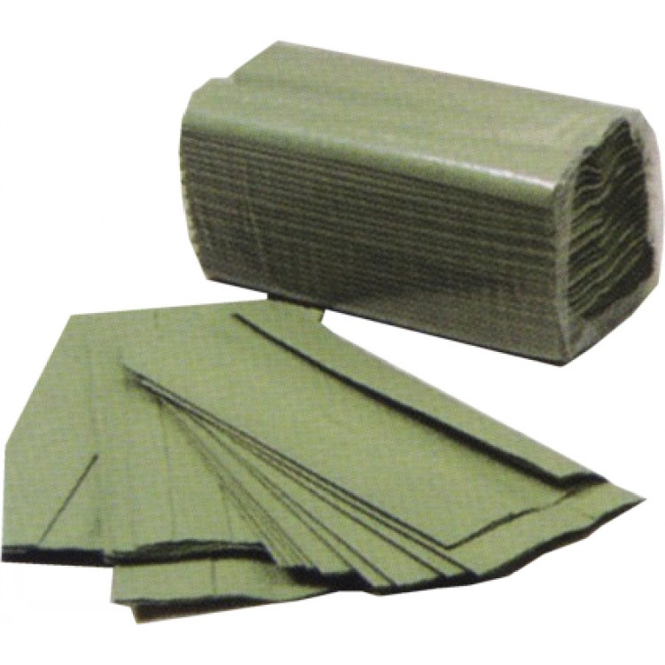 Paper Hand Towels C Fold - Green PK2520