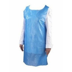 Blue Disposable Aprons (Pack of 100)