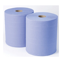 Blue Roll Wiper Monster Roll 2ply