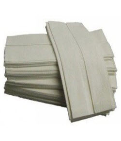Luxury Paper Hand Towels C Fold - white 2ply PK2400