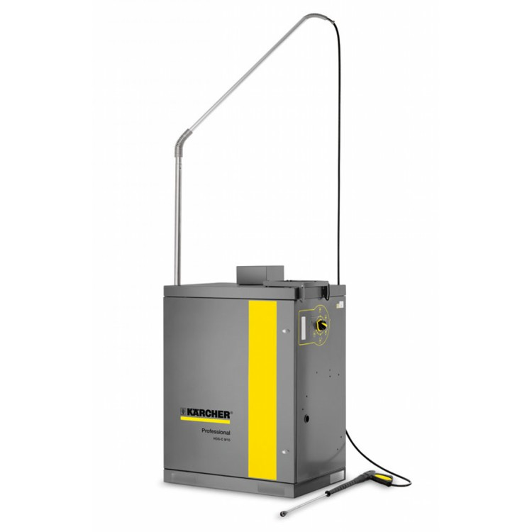 Karcher Hot water Pressure Washer HDS-C 9/15 in Steel Cabinet