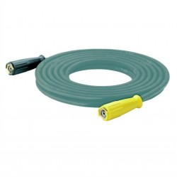 Karcher High-pressure hose, 20 m ID 8, AVS trigger gun connector, suitable for food industry, grey