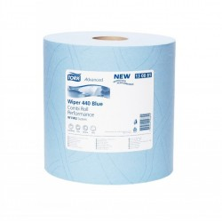 Tork Blue Combi 440 Wiping Paper Roll  (Twin pack)