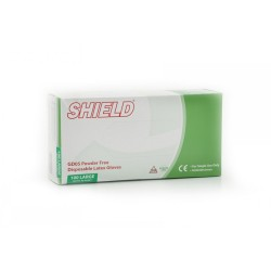 Latex Disposable Gloves Powder Free (box of 100)  from as low as £3.54