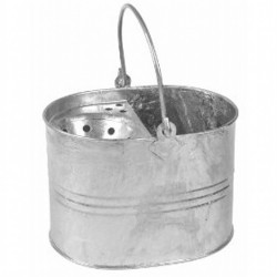 Galvanized Steel Mop Bucket 15Ltr