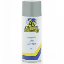Silver Alloy Paint 400ml Pk12