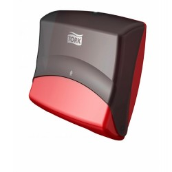 Tork Performance Folded Wiper / Cloth Dispenser - red