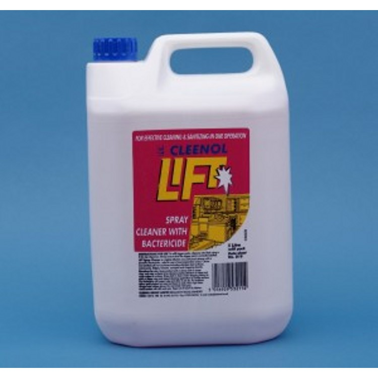 Lift Spray Cleaner With Bactericide
