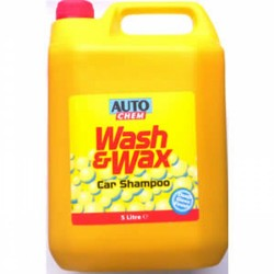 Wash & Wax Car Shampoo 5Ltr